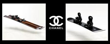 ¡Pistaaa, que esquío con Chanel!