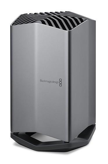 Apple lanza la eGPU Blackmagic en exclusiva como compañera de los nuevos MacBook Pro