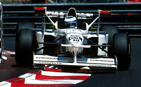 Mika Salo Tyrrell 025 Mónaco 1997