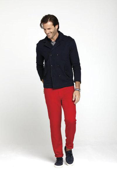 Pantalon rojo Pedro del Hierro Primavera 2013