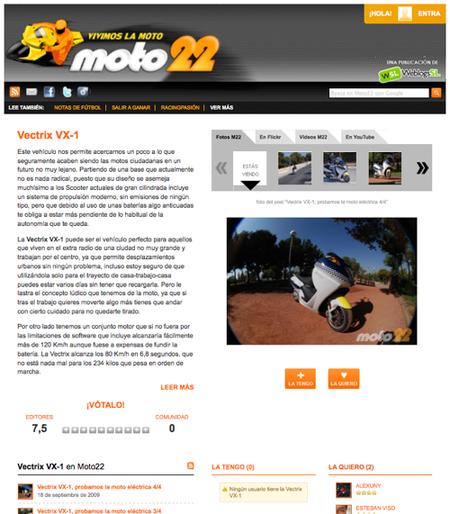 Moto22 2.0: toda la información sobre tus modelos preferidos a tu alcance