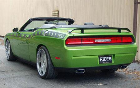 Otro para el SEMA Show: Dodge Challenger Convertible