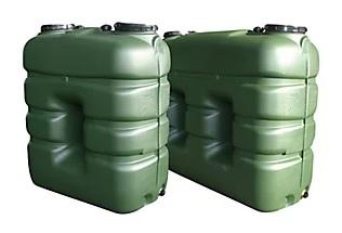 Depósito de agua rectangular R 3000L