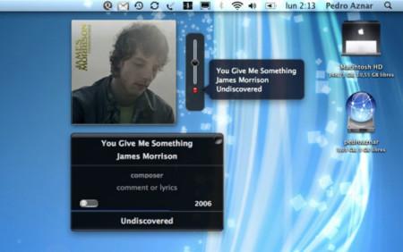 iTunesVolume: Más control e información sobre iTunes, de forma discreta
