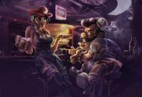 Imagen de la semana: ¿y si Mario hubiese pertenecido a SEGA?