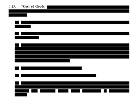 """La UE publica el contrato de las vacunas de Astrazeneca """"censurado"""" en PDF y se olvida de quitar los marcadores, dejando parte a la vista"""