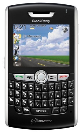 Blackberry 8800 con puntos Movistar