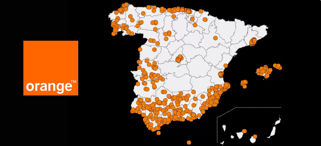 Orange ya ofrece cobertura 5G en 442 ciudades de España