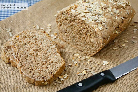 Pan integral con semillas: receta con Thermomix