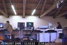 TimeLapse: Salvapantallas con capturas desde la webcam