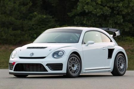 Así son los primeros kilómetros del Volkswagen Beetle para el GRC