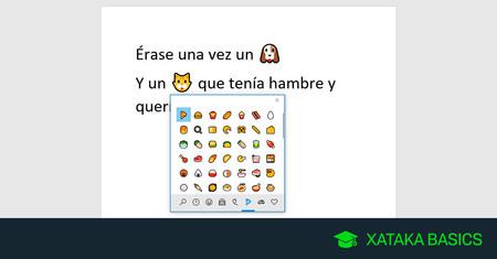 Cómo escribir emojis en Windows 10