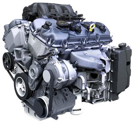 Nuevo motor Duratec V6 3.7 para el 2011 Ford Mustang