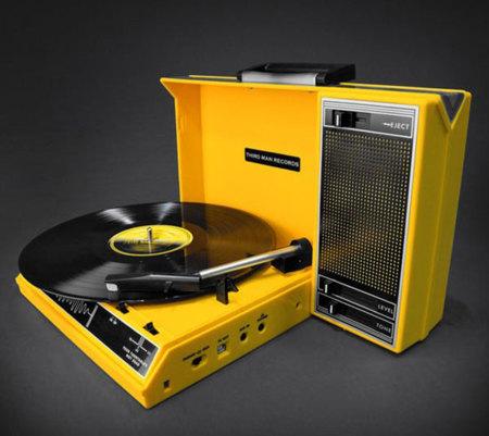 Spinnerette: el tocadiscos retro de Jack White