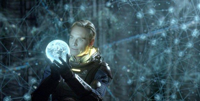 Michael Fassbender en 'Prometheus'