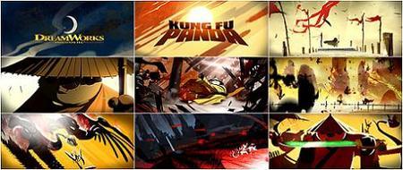 Dream, la secuencia inicial de 'Kung Fu Panda'