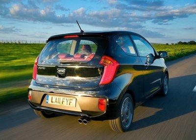 Así es el Kia Picanto de tres puertas