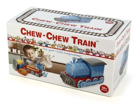 Un tren para que los niños coman