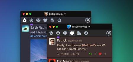 Twitterrific para macOS aprovecha el hueco dejado por Twitter y se actualiza con múltiples novedades