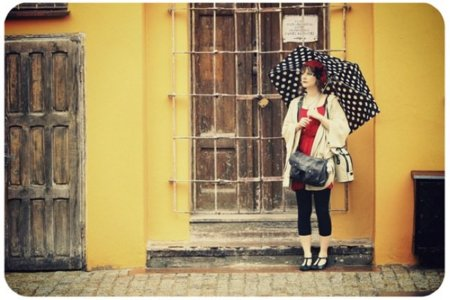 Look calle lluvia oaraguas lunares