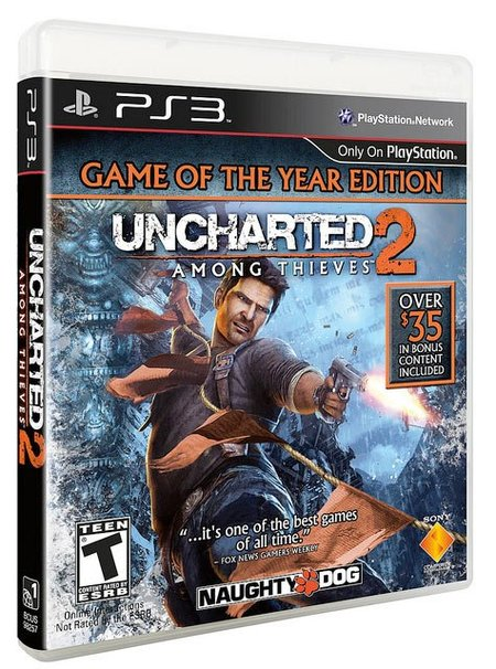 Uncharted 2 GOTY edition