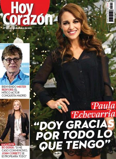 Paula Echevarría Hoy Corazón