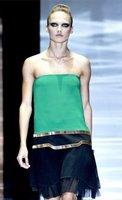Ojos negros en la Semana de la Moda de Milán