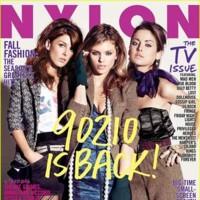 Las nuevas protagonistas de Sensación de Vivir en la revista Nylon
