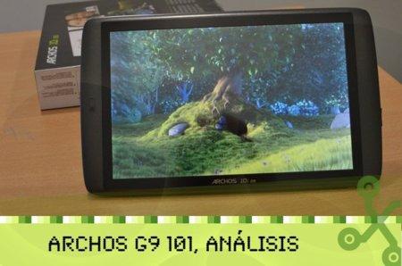 Archos 101 G9, lo hemos probado