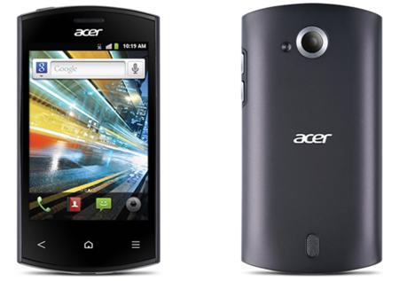 Acer Liquid Express protagoniza el estreno de la compañía con NFC