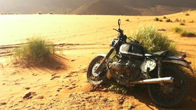 BMW R100 Scram