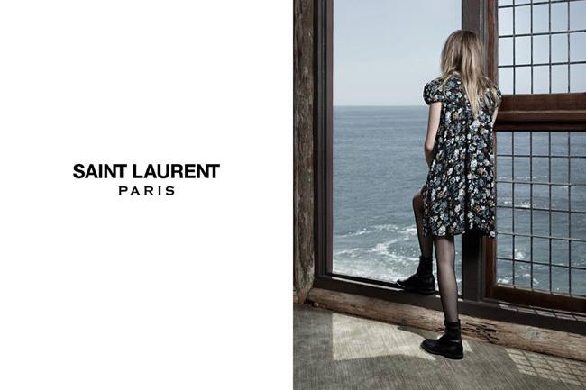 Saint Laurent Invierno 2013 con Cara Delevingne