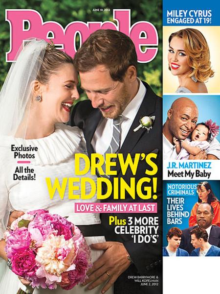 Drew Barrymore Y Will Kopelman Recien Casados Y Esperando Su Primer Hijo Foto People Magazine