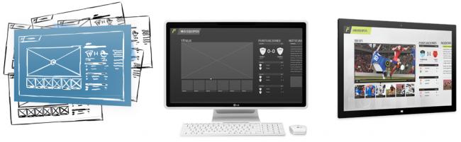 prototipando aplicaciones para Windows 8