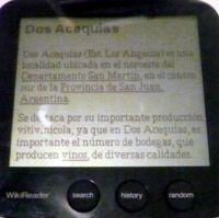 WikiReader ya en España y en español