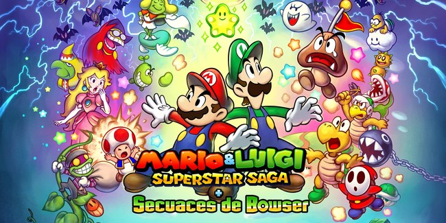 Mario Luigi Superstar Saga Secuaces De Bowser
