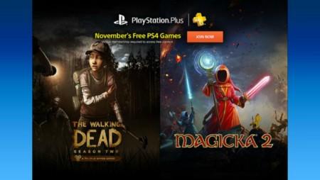 Llegó noviembre y con él los juegos de PlayStation Plus