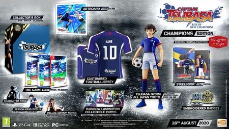 Captain Tsubasa Edicion Champions