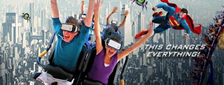 El futuro de las montañas rusas es la realidad virtual
