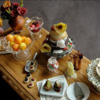 Esculturas realistas de alimentos en miniatura