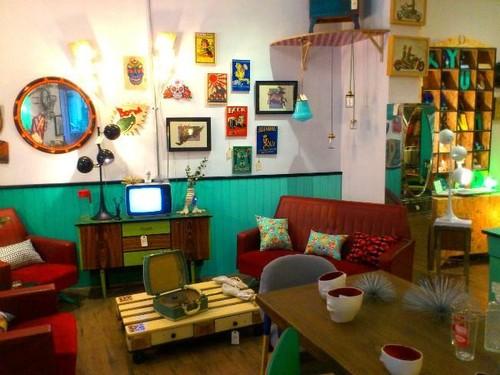 8 tiendas de muebles vintage para volverse loco en madrid - Muebles el rastro ...