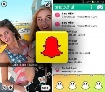 Snapchat con graves problemas de seguridad