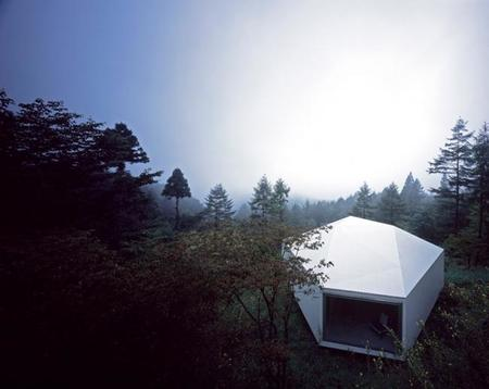 Galería de arte Karuizawa en el bosque
