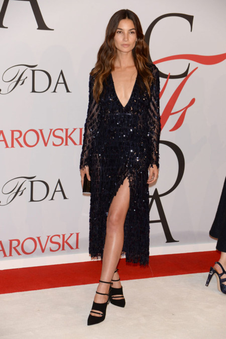 Lily Aldridge Cfda Wards 2015
