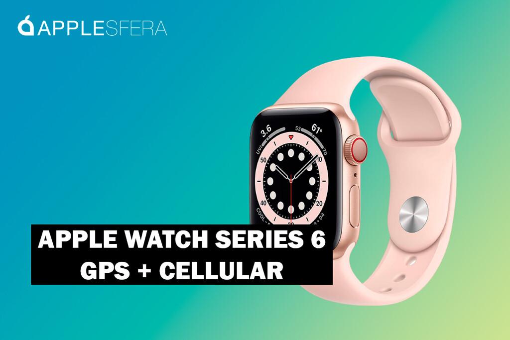 El nuevo Apple Watch Series 6 con conectividad Cellular está 20 euros más barato en Amazon, alcanzado su precio mínimo