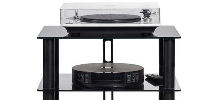 Elipson mantiene vivo al Audio-CD con el Music Centre Connect HD, un amplificador de forma circular con reproductor en streaming