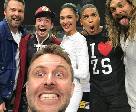 El selfie de Justice League