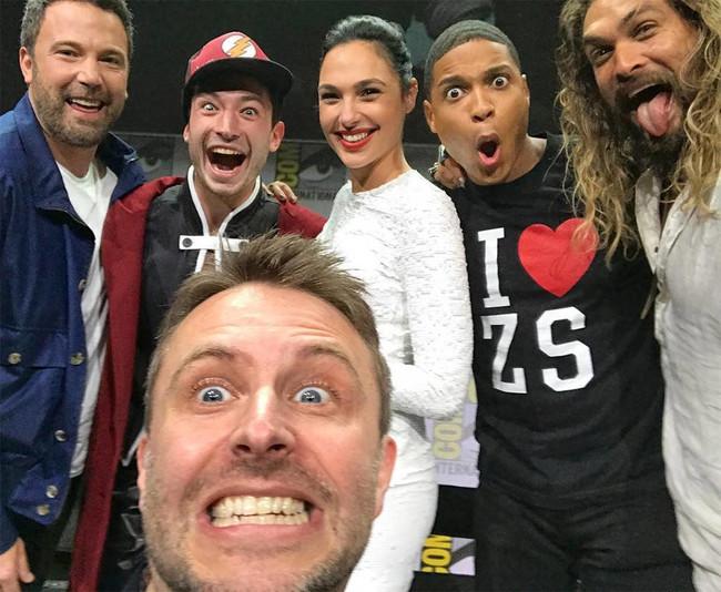 El selfie de Justice League