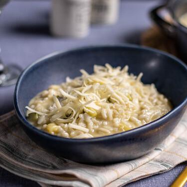 Receta de risotto de calabacín, fácil, deliciosa y al gusto de todos