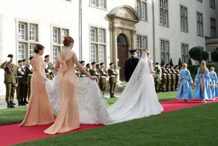 Vestido de novia de Stéphanie de Lannoy: princesa de Luxemburgo